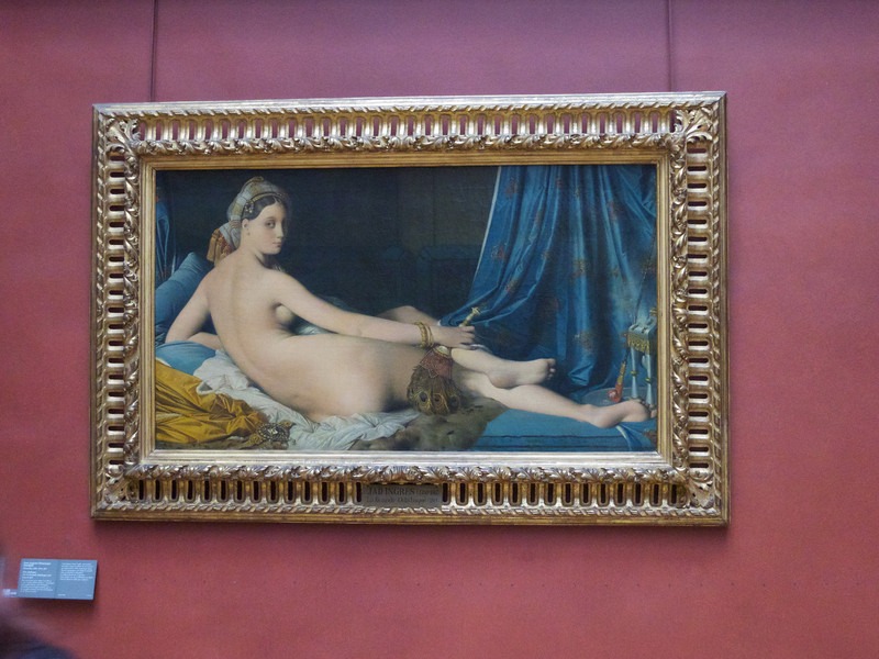 La Grande Odalisque -- Ingres<br /> Paris - 2013-01-10 at 12-04-22