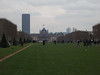 Tour Montparnasse and Ecole Militaire from the base of the Tour Eiffel<br /> Paris - 2013-01-11 at 14-20-23