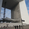 Under the Grande Arche<br /> Paris - 2013-01-14 at 12-46-23