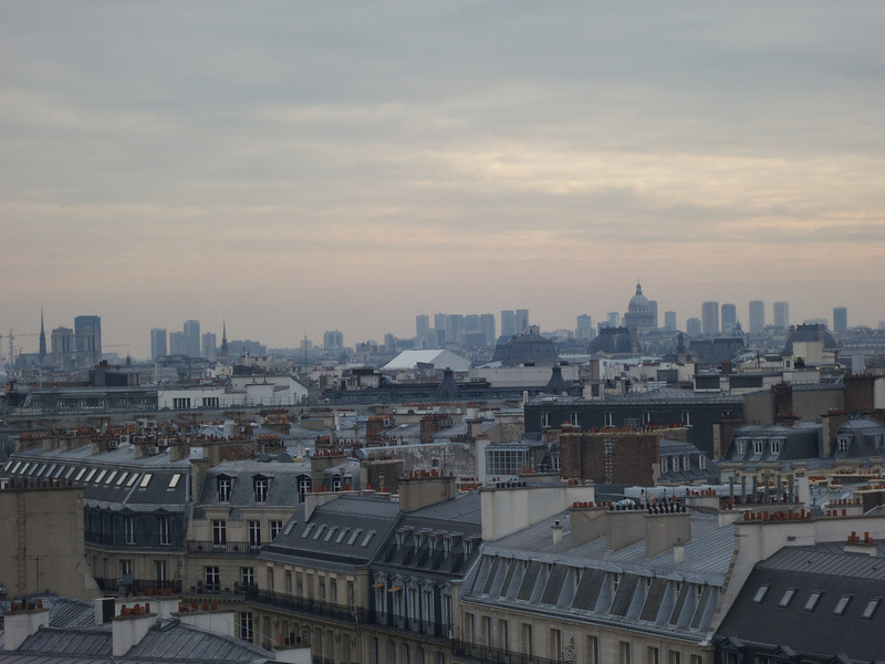 The Pantheon is on the right<br /> Paris - 2013-01-14 at 15-07-23