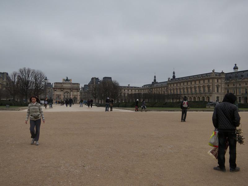 Arc du Carrousel<br /> Paris - 2013-01-09 at 11-27-08