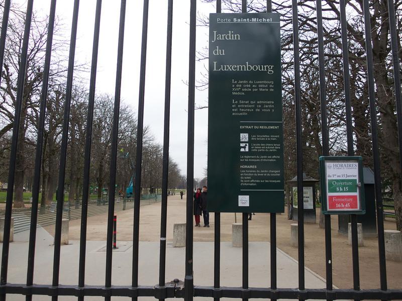 Jardin du Luxembourg<br /> Paris - 2013-01-09 at 10-19-26