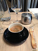 Note the cookie shape (Cafe after lunch at 'Poilane Cafe du Bar')<br /> Paris - 2013-01-15 at 13-55-15