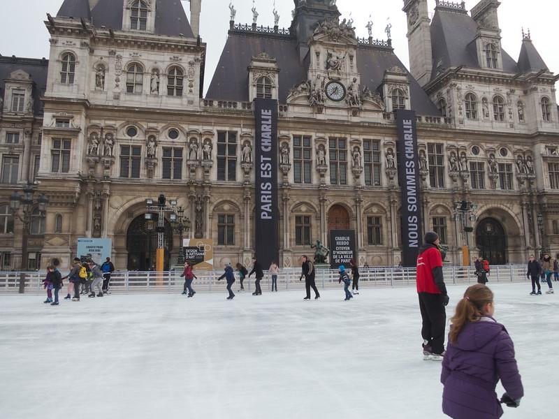 Ice Skating at the Hotel de Ville<br /> Paris - 2015-02-18 at 12-36-31