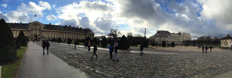 North Portal panorama<br /> Paris - 2015-02-21 at 16-19-13
