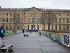 Entrance to the Cour Career of the Louvre<br /> Paris - 2015-02-21 at 10-54-14