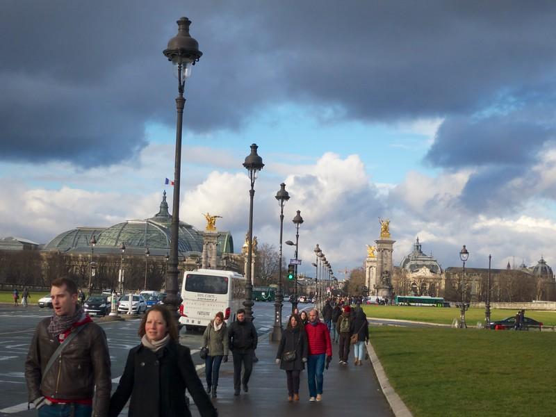 Grand Palais and Pont Alexandre III<br /> Paris - 2015-02-21 at 16-26-21