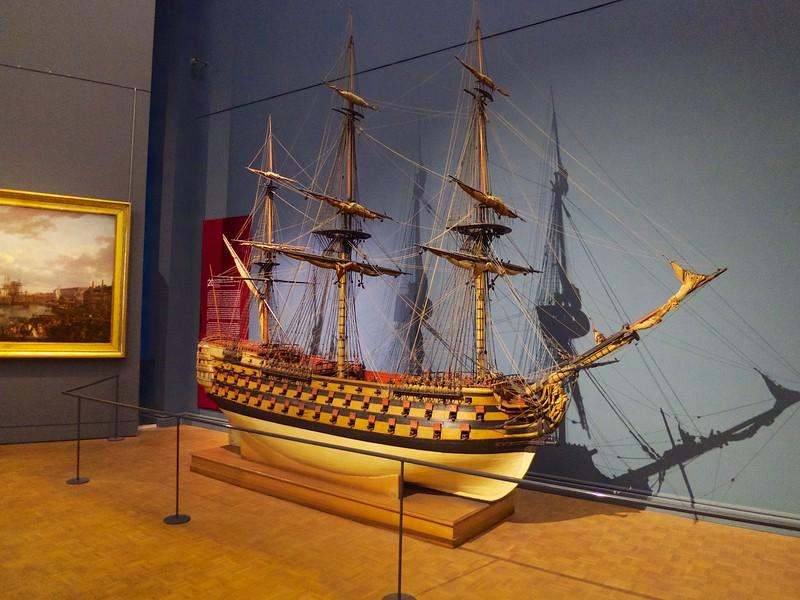 Model of an 18th Century Frigite<br /> Paris - 2015-02-21 at 13-45-13
