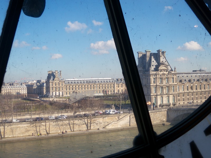 The Louvre from Musee d'Orsay<br /> Paris - 2015-02-22 at 11-42-06