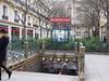 A Metro Entrance<br /> Paris - 2015-02-22 at 14-01-28