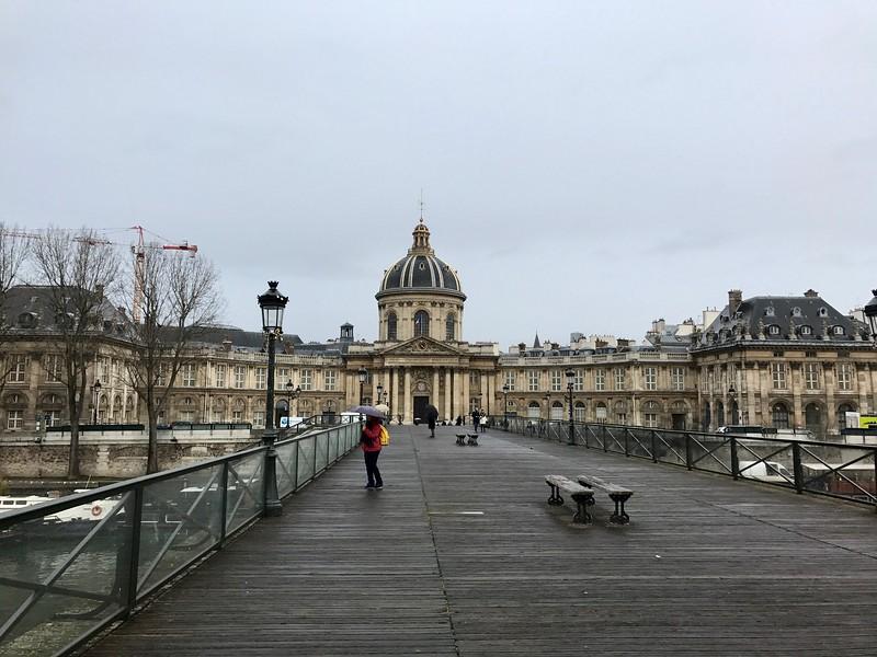 institut de France from Pont des Arts