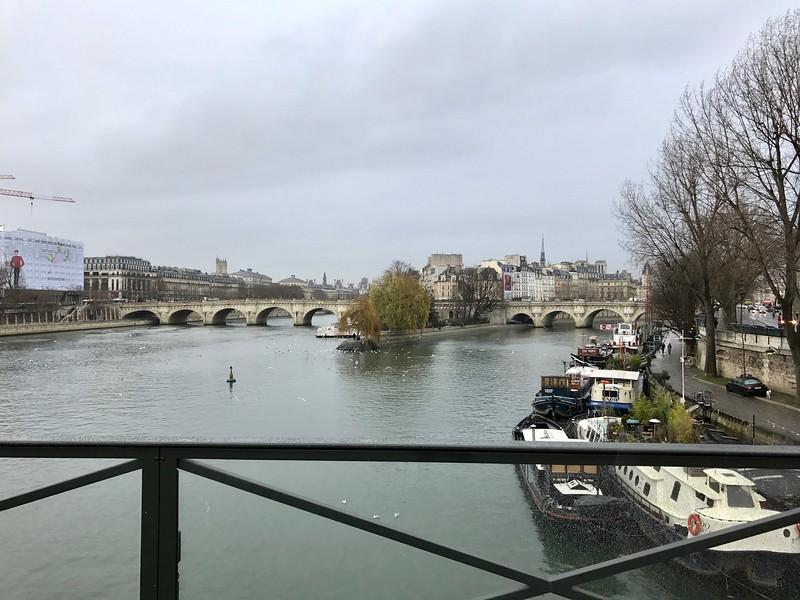 Pont Neuf and Ile de Cite from Pont Des Arts