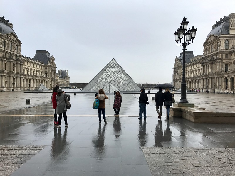 The Louvre -- Pyramid