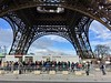 Security Gate at Tour Eiffel