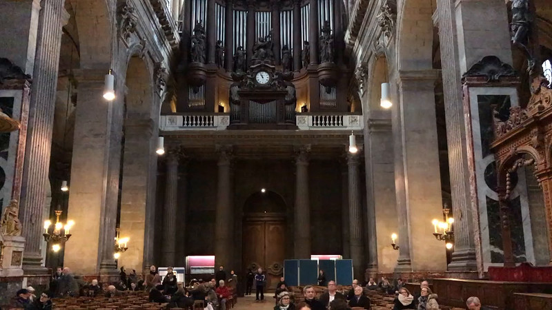 Sample of Post Mass Organ Recital at St Sulpice