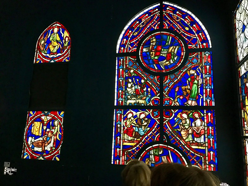 Stained Glass at the Cluny Museum