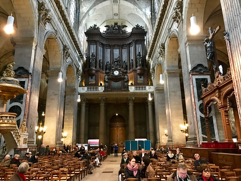 The Organ at St Sulpice