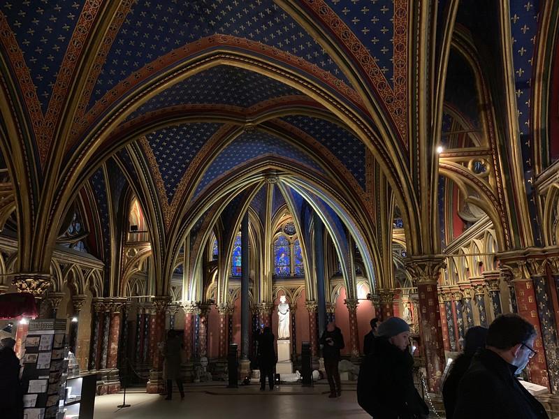 Sainte Chapelle Lower Chapel