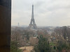 View from the Architecture Museum in the Palais de Chaillot
