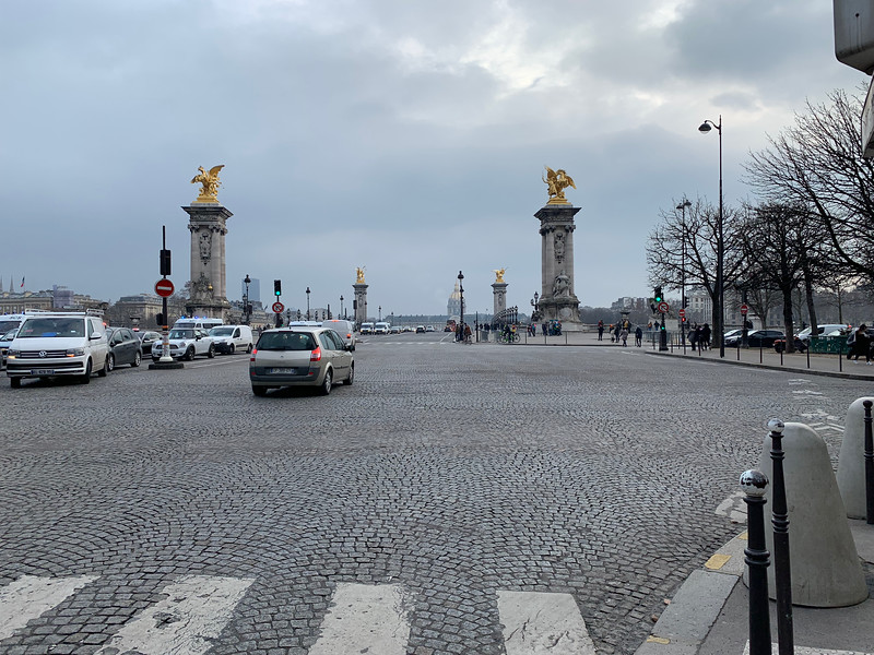 Pont Alexandre III and Hotel des Invalides