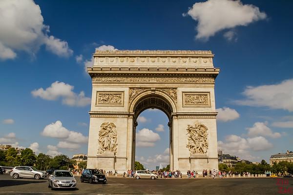Arc de Triomphe Paris place Charles de Gaulle 1