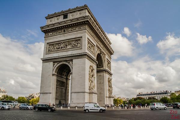 Arc de Triomphe Paris place Charles de Gaulle 3