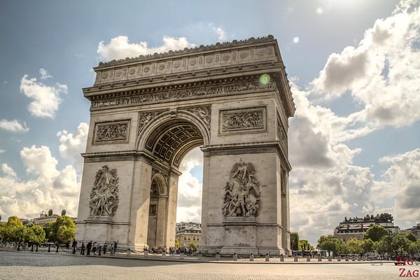 Arc de Triomphe Paris place Charles de Gaulle 6