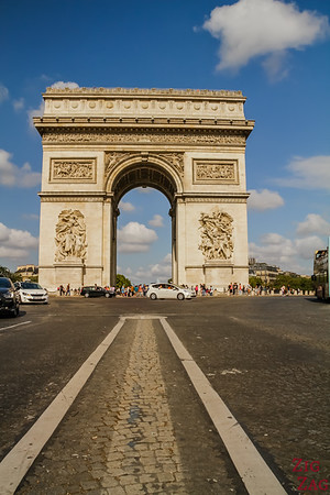 Arc de Triomphe Paris place Charles de Gaulle  2