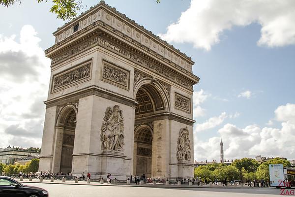 Arc de Triomphe Paris place Charles de Gaulle 7