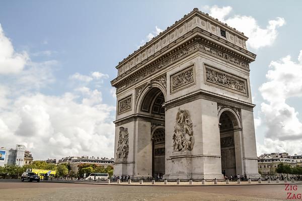 Arc de Triomphe Paris place Charles de Gaulle 4