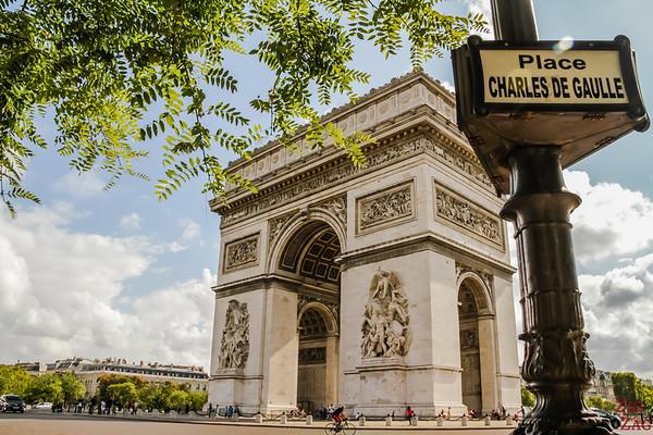Arc de Triomphe Paris place Charles de Gaulle 5