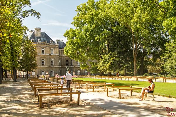 Luxembourg Garden Paris - locals' spot 1