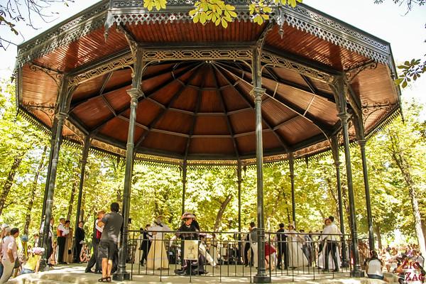 Luxembourg Garden Paris - gazebo 4