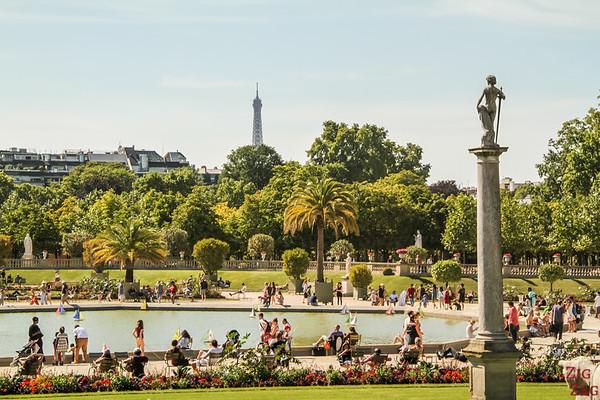 Luxembourg Garden Paris - locals' spot 2