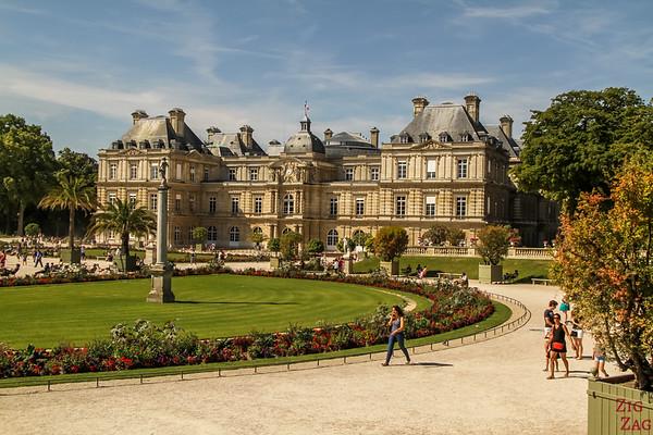 Jardin du Luxembourg Paris - Luxembourg Palace 2
