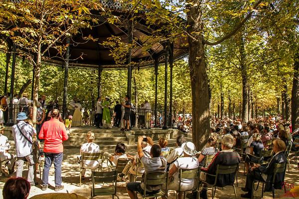 Luxembourg Garden Paris - gazebo 5