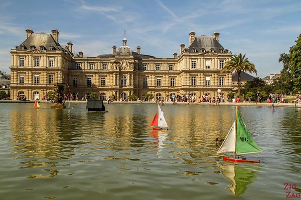 Luxembourg Garden Paris - locals' spot 3