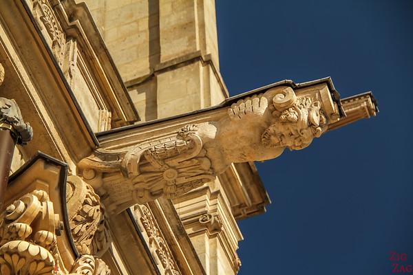 Saint Eustache Paris : details facade 2