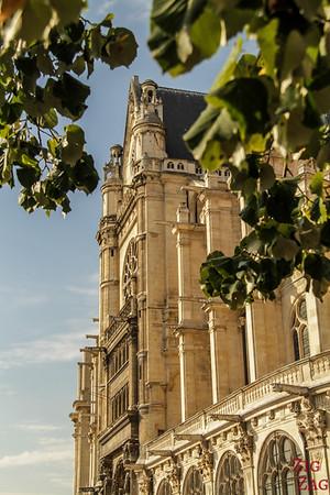 Saint Eustache Paris : facade 6