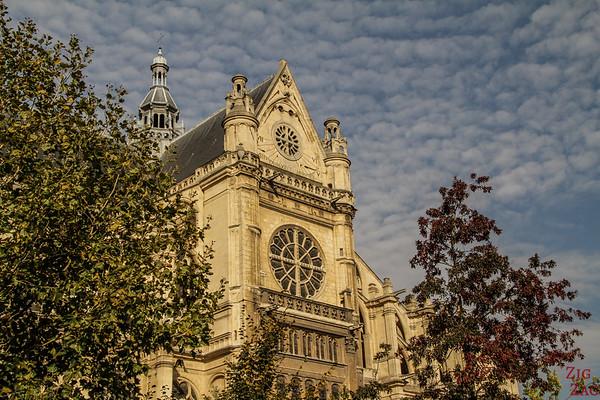 Saint Eustache Paris : facade 8