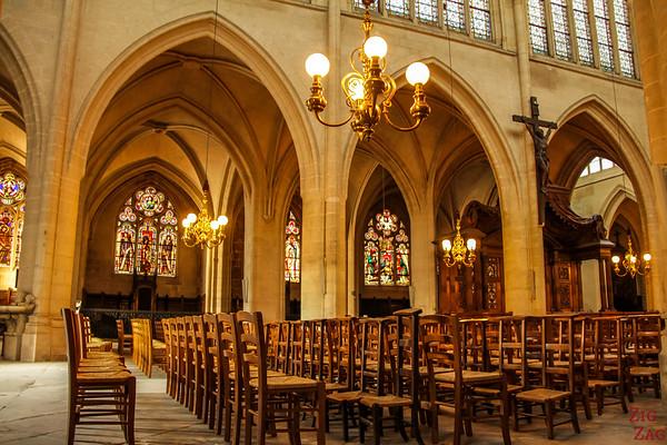Saint Germain l'Auxerrois church, paris - inside 5