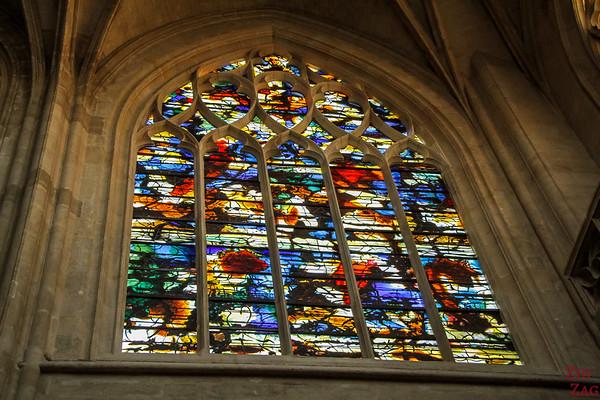 Saint Germain l'Auxerrois church, paris - Stained glass 8