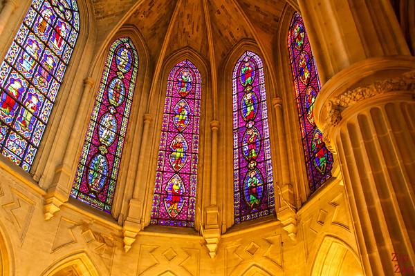 Saint Germain l'Auxerrois church, paris - Stained glass 3