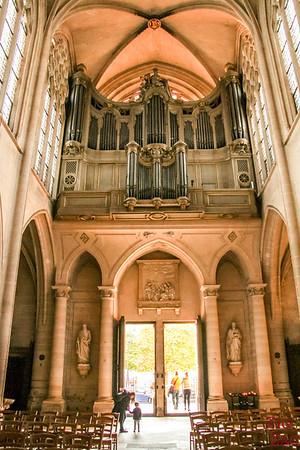 Saint Germain l'Auxerrois church, paris - Organ 2