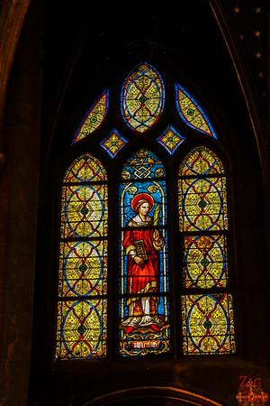 Saint Germain l'Auxerrois church, paris - Stained glass 6
