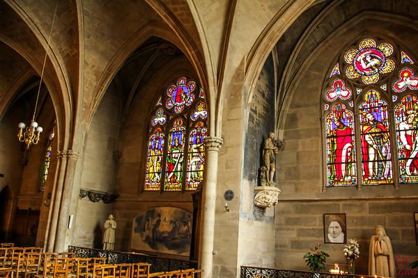 Saint Germain l'Auxerrois church, paris - inside '