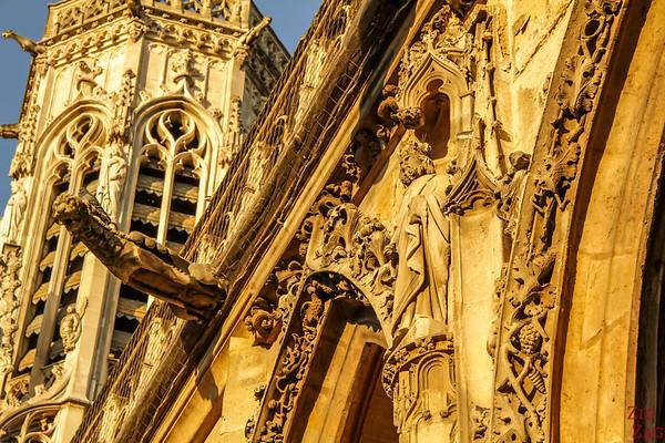Saint Germain l'Auxerrois church, paris - entrance 3