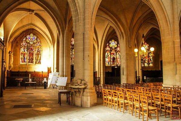 Saint Germain l'Auxerrois church, paris - inside 3
