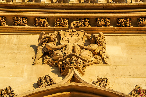 Saint Germain l'Auxerrois church, paris - tower 4