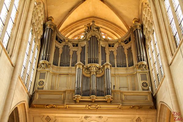 Saint Germain l'Auxerrois church, paris - Organ 3